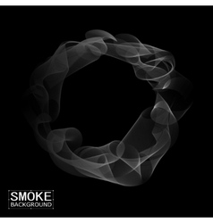 abstract smoke background vector image
