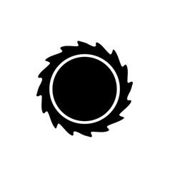 black hole linear icon modern outline black hole vector image
