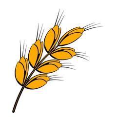 ear of barley icon icon cartoon vector image