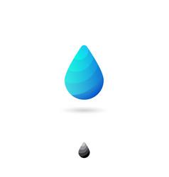 icon drop2 vector image