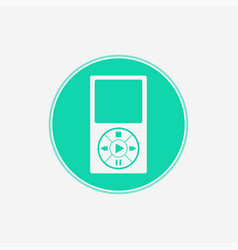 music player icon sign symbol vector image