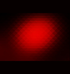 Red brown black rows of triangles background vector