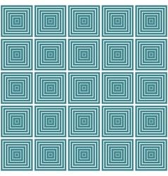 Seamless geometric square pattern vector