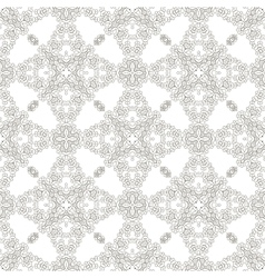 Seamless Texture on White Element for Design vector image