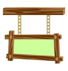 Wooden frameworks vector