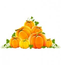 harvest scene vector image vector image