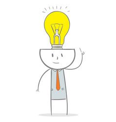 brain ideas vector image