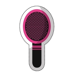 comb female isolated icon vector image