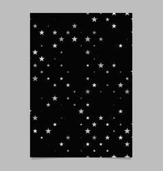 Geometric pentagram pattern background poster vector