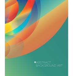 Modern design concept background design vector image