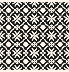 monochrome ornamental pattern in ethnic style vector image vector image