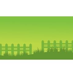 Spring landscape background of vector image