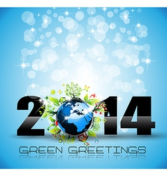 2014 New Year Colorful Background vector image vector image