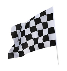 Finish flag vector image