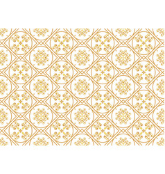 a gold seamlessl pattern for the card or vector image