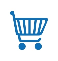 cart supermarket shopping icon graphic vector image