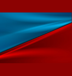 contrast red blue smooth gradient abstract vector image