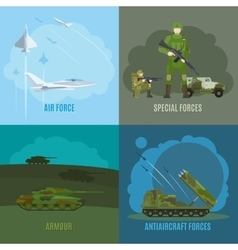 Military and army vector image