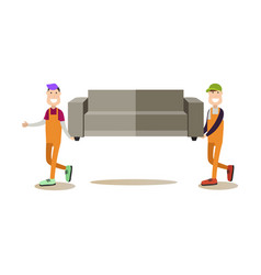 shipping concept in flat style vector image