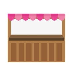 Store stand icon image vector
