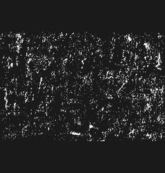 white grainy texture isolated on black background vector image