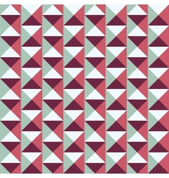 seamless pattern with squares and triangles vector image vector image