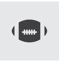 America football ball icon vector image vector image