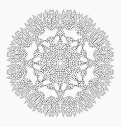 mandala antistress coloring pages vector image