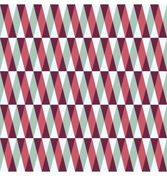 seamless pattern with stripes and triangles vector image vector image