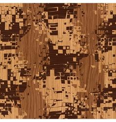 wooden shatter pattern vector image vector image
