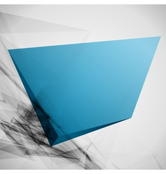 Abstract geometric lines background vector image vector image