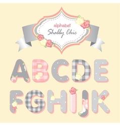 Alphabet shabchic vector