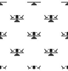 Carousel icon in black style isolated on white vector