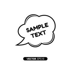 digital quote frames box vector image