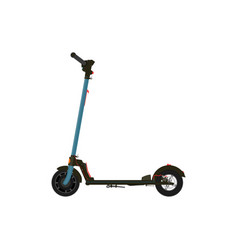 electric scooter vector image