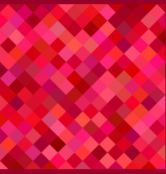 red abstract square pattern background vector image