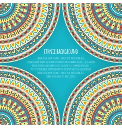 Ethnic Patterns for Background Design vector image vector image