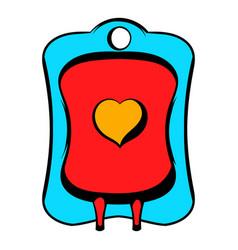 donate blood icon icon cartoon vector image vector image
