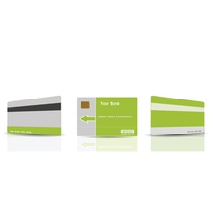 credit cards templates vector image