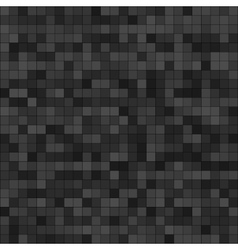 Abstract digital grey pixels seamless pattern vector image