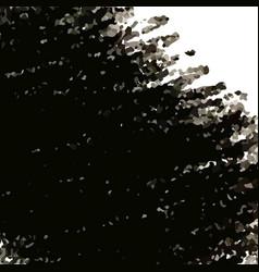 black crayon scribble textured background vector image