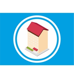 Building living vector image