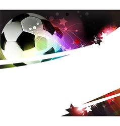 Football background vector