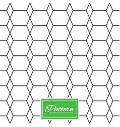 rhombus stripped seamless pattern vector image
