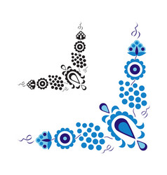 Traditional folk ornament and pattern vector
