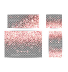 Sequins pink background vector