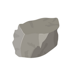 color background with lump of rock vector image vector image