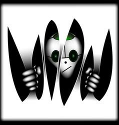 Alien signufo in dark vector