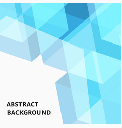 blue abstract background creative design templates vector image