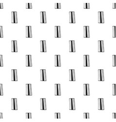geometric background with rectangles black and vector image